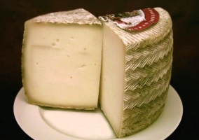 Detalle de queso manchego