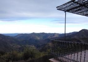 Terraza y vista