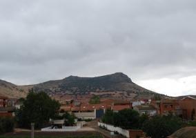 Vistas al pueblo desde el alojamiento
