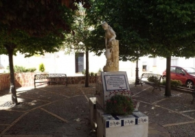 Zona de la Fuente de la Plaza Vieja
