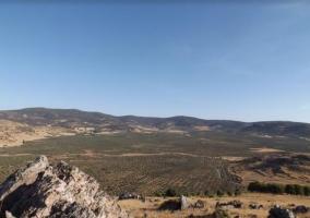 Zona de vistas desde el molino
