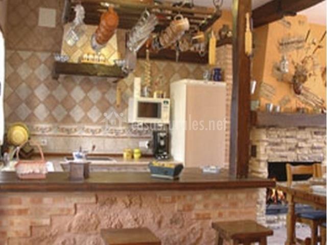 Don mart n rural en almagro ciudad real for Barras de bar rusticas