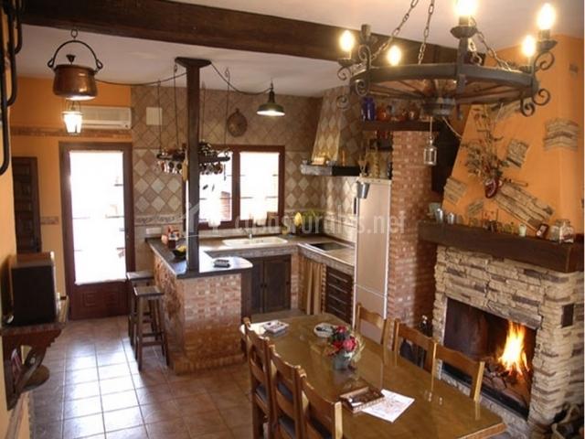Don mart n rural en almagro ciudad real - Cocinar en la chimenea ...