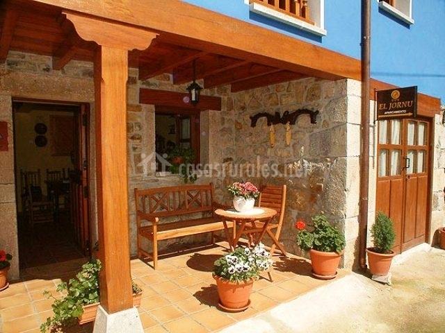 El jornu en cangas de onis asturias - Que es un porche de una casa ...