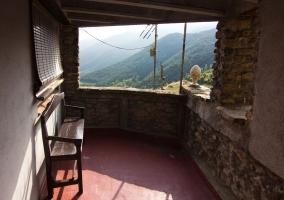 Vistas de la terraza con las mejores vistas