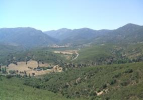 Panorámica de los Montes de Toledo