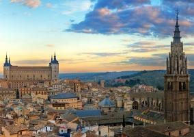Impresionantes vistas de Toledo