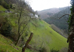 Vista de la Aldea de Esquíos