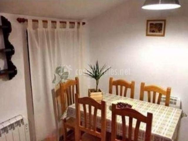 Apartamento A con comedor