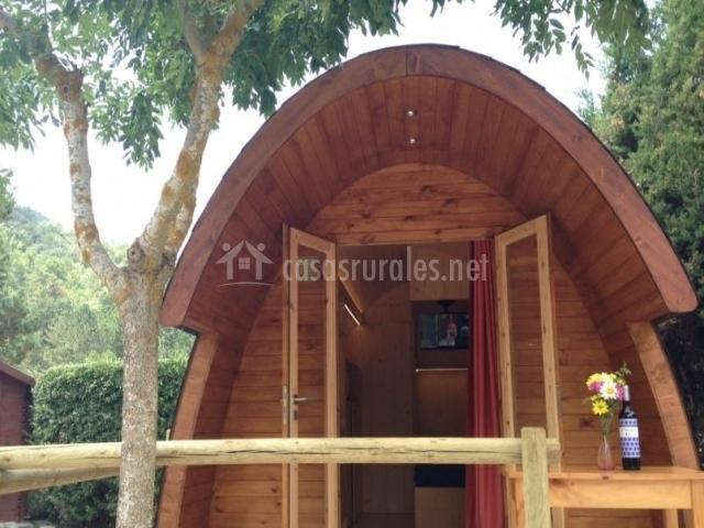 Acceso al bungalow