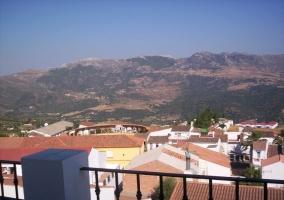 Vistas desde la terraza del apartamento