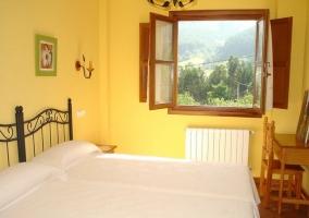 Habitación amarilla doble