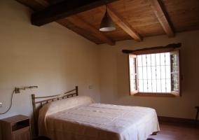 Dormitorio doble camas individuales