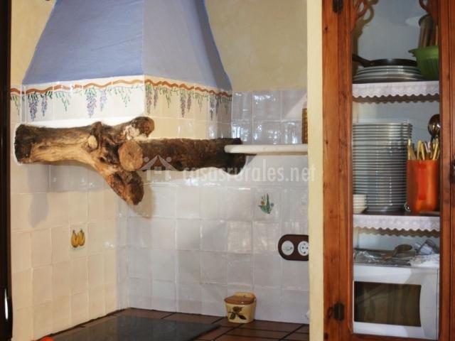 Casa lim n la carrasca en catral alicante for Extractor de humo para cocina