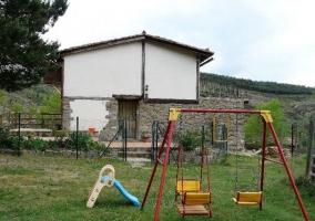 Acceso Casa del Pinar