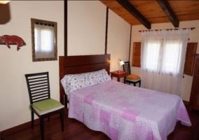 Dormitorio de matrimonio Casa del Pinar