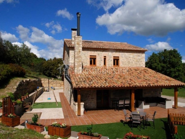 Cal joan pau casas rurales en pujalt barcelona - Casas rurales bcn ...