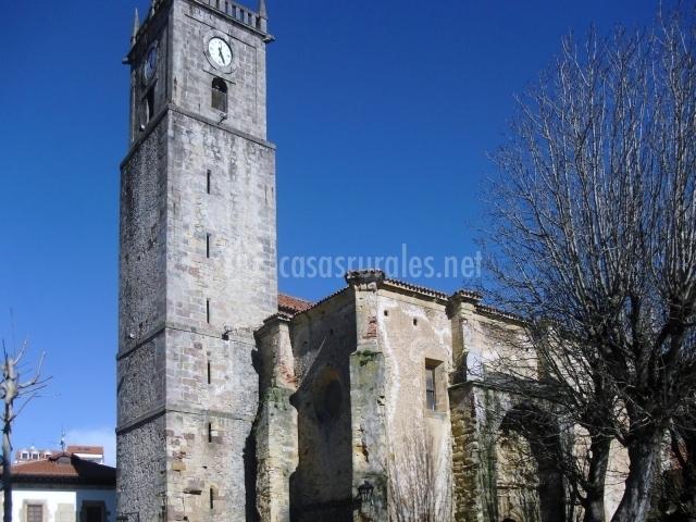 Iglesia de San Cristóbal en Comillas