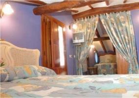 Habitacion cuádruple con dos camas de matrimonio