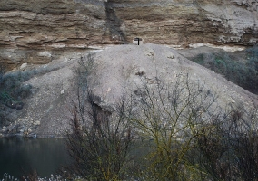 Minas de glauberita en Alcanadre
