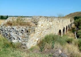 Acueducto romano en Alcandre