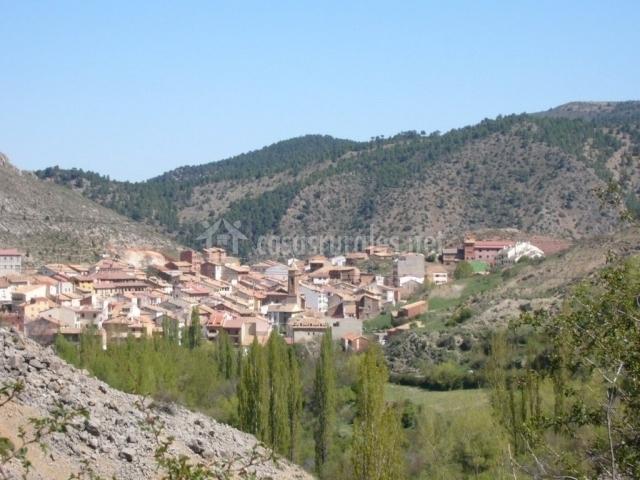 Apartamentos tur sticos rosario en camarena de la sierra teruel - Casa rural camarena de la sierra ...
