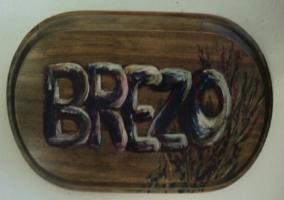 Cartel dormitorio Brezo