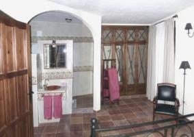 Estancias del dormitorio. Vista completa