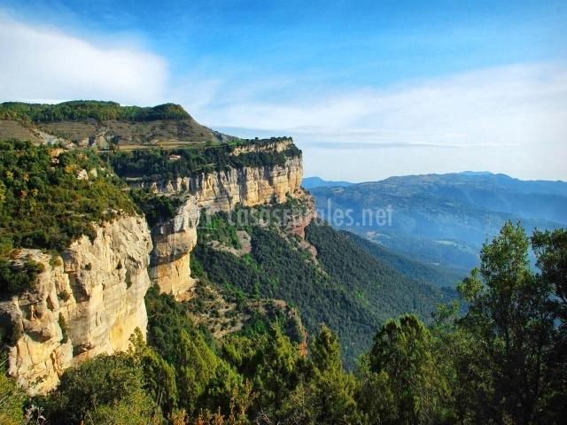 Barranco de la comarca de Osona
