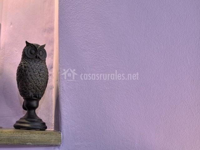 Figura decorativa de búho