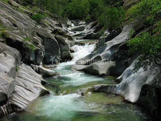 Río en el Valle del Jerte