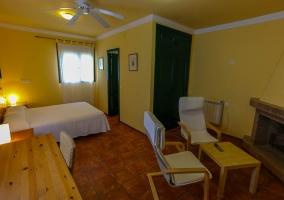 Habitación doble estándar con dos camas
