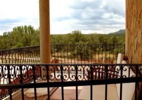 Entrada a la terraza