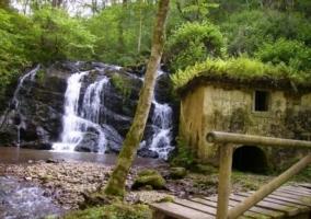Cascada en la Ruta del Valle del Nalón