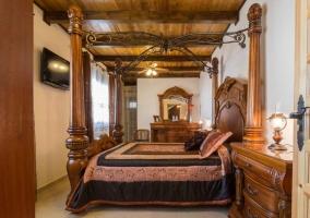 Habitación señorial en madera