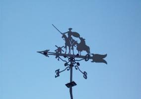 Veleta de cerca con el Quijote