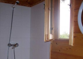 Plato de ducha en el baño