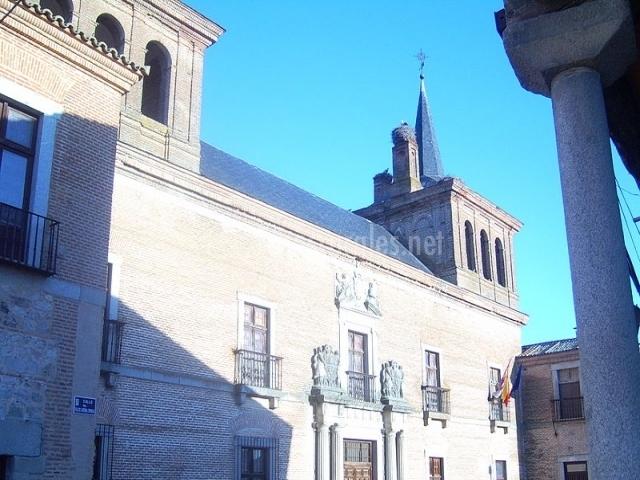 Palacio del Cardenal Espinosa en Martín Muñoz de las Posadas