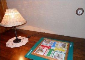 Juego de mesa disponible en la vivienda
