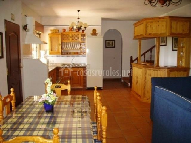 Cocina de la casa rural andaluza