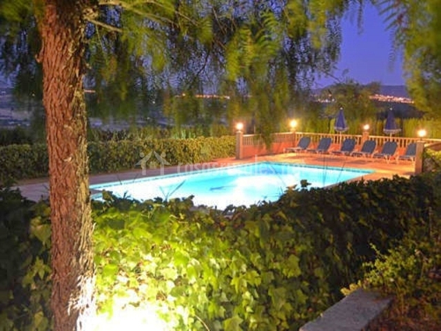 Villa palacios en ronda m laga for Jardin villa ronda