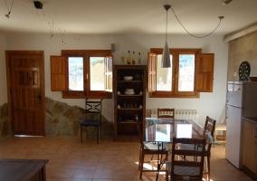 Amplio salón, comedor y cocina