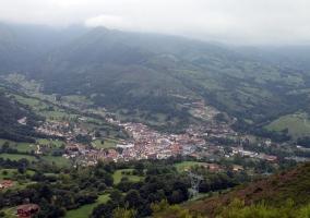 Zona de paisajes en Cangas