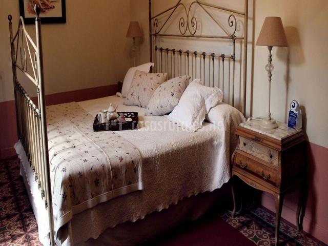 Dormitorio Hornacina con cama de matrimonio
