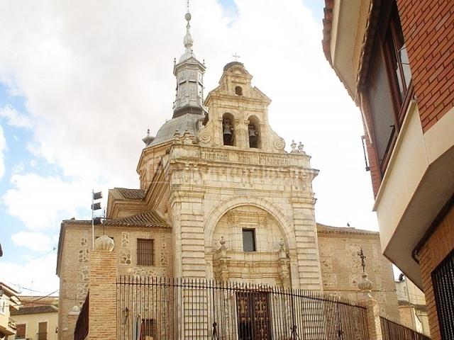 Iglesia del Santísimo Cristo de la Vera Cruz en Consuegra