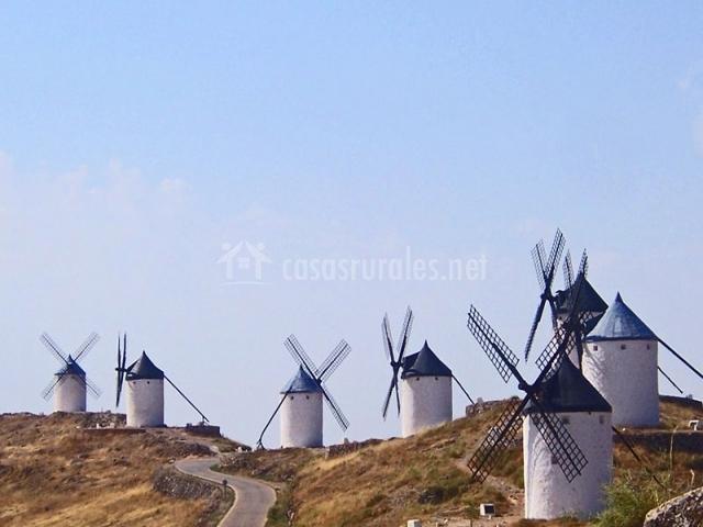 Molinos de viento en Consuegra