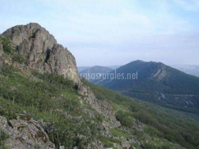 Zona natural del entorno con altitud