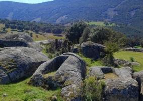Zona rocosa natural