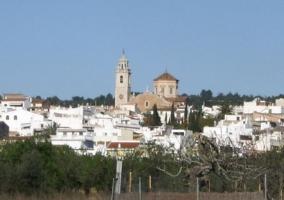 Zona de San Jorge y su iglesia