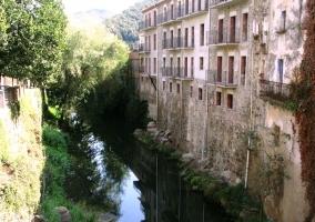 Sant Feliu de Pallerols río